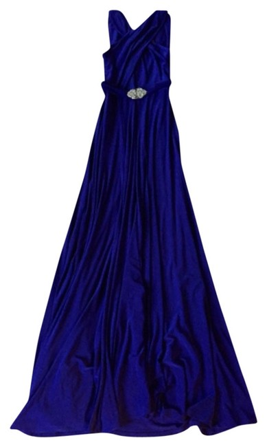 Ralph Lauren Purple Long Formal Dress Size 6 (S) Ralph Lauren Purple Long Formal Dress Size 6 (S) Image 1