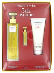 Elizabeth Arden 5TH AVENUE ~ Gift Set -- 4.2 oz Eau de Parfum Spray + .12 oz Mini +...