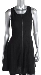 Bar III Full Zip Front Lace Back Dress