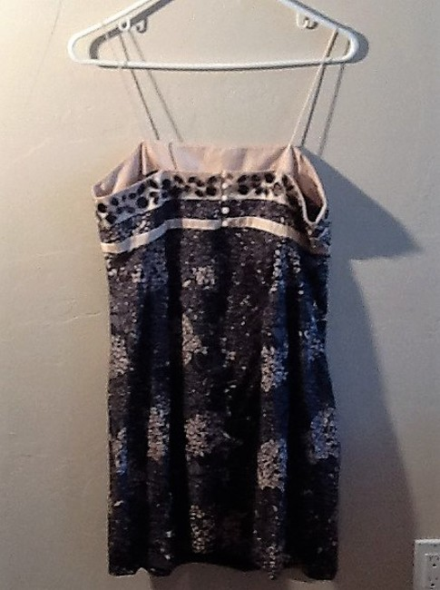 Rebecca Taylor short dress Black, Gray & Ivory on Tradesy Image 3
