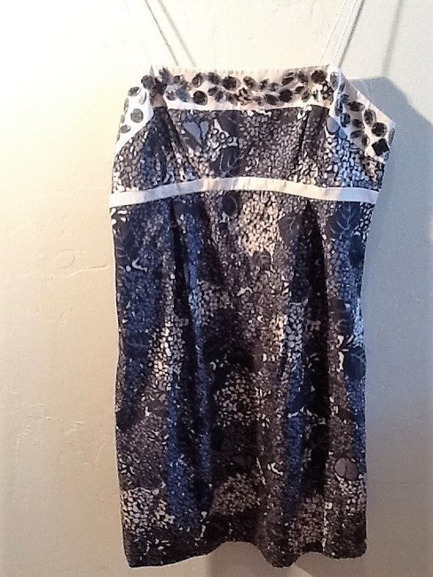 Rebecca Taylor short dress Black, Gray & Ivory on Tradesy Image 6
