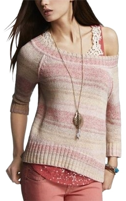 Express Pastel Ombre Sweater Express Pastel Ombre Sweater Image 1