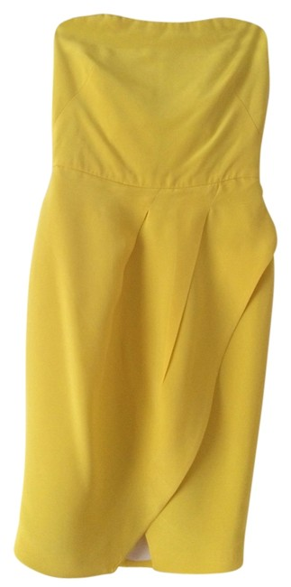 Preload https://img-static.tradesy.com/item/11866609/yellow-margot-above-knee-cocktail-dress-size-0-xs-0-1-650-650.jpg