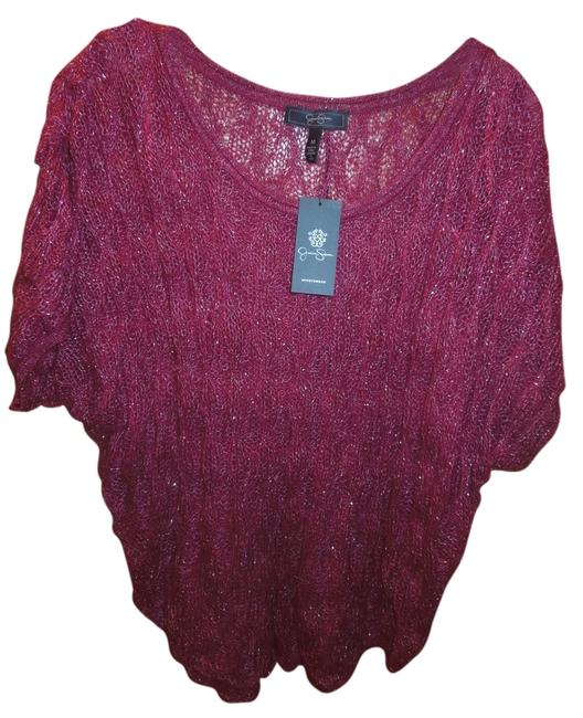 Preload https://img-static.tradesy.com/item/1186679/jessica-simpson-pink-red-style-name-is-glimmer-style-number-is-60208239-088-coloris-beet-red-sweater-0-0-650-650.jpg