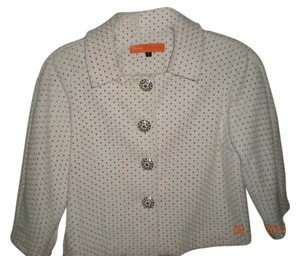 Cynthia Steffe Crop Unique Buttons Jacket