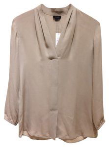 Theory Top Bare Khaki