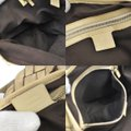 Gucci Tote Pattern Brown Canvas Leather Vintage Shoulder Bag Gucci Tote Pattern Brown Canvas Leather Vintage Shoulder Bag Image 9