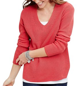 J. Jill Pullover Relaxed Fit V-neck Sweater
