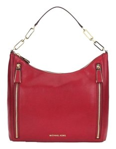 Michael Kors Matilda Calfskin Cherry Shoulder Bag