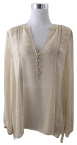 Joie Top Beige & Cream