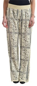 Just Cavalli Straight Pants Cream