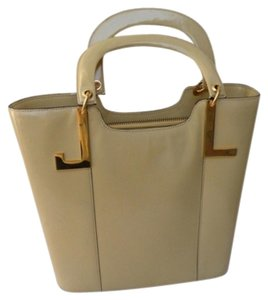 Lanvin Handbag Vintage Jean Paris Tote in cream