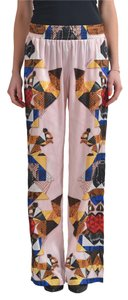 Just Cavalli Wide Leg Pants Multi-Color
