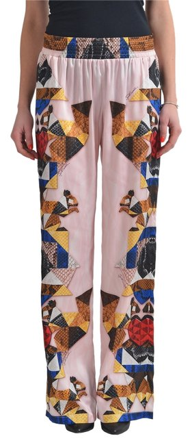 Just Cavalli Wide Leg Pants Multi-Color Image 0