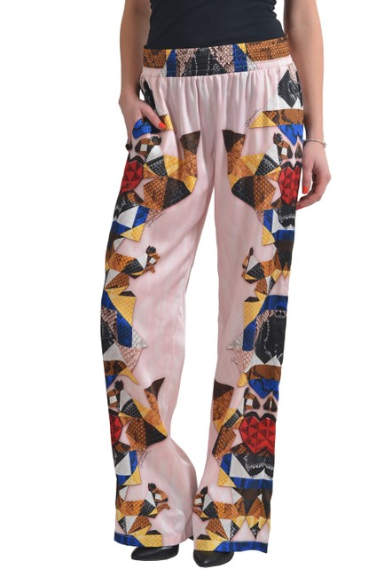 Just Cavalli Wide Leg Pants Multi-Color Image 1