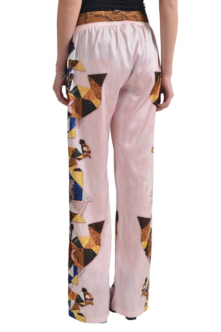 Just Cavalli Wide Leg Pants Multi-Color Image 2