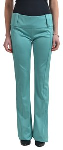 Just Cavalli Straight Pants Green