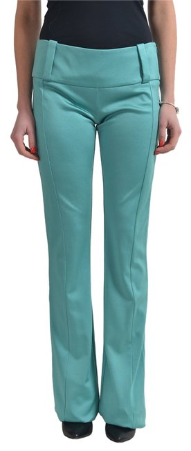 Just Cavalli Green Women's Stretch Casual Pants Size 4 (S, 27) Just Cavalli Green Women's Stretch Casual Pants Size 4 (S, 27) Image 1