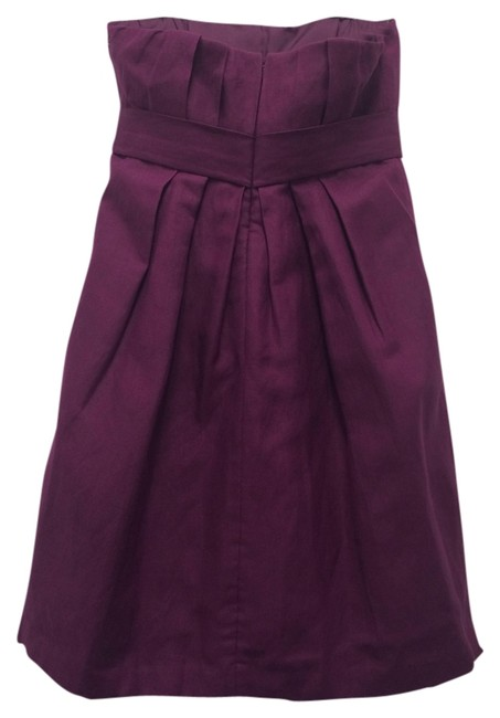 Preload https://item2.tradesy.com/images/ali-ro-magenta-strapless-above-knee-cocktail-dress-size-2-xs-1187061-0-0.jpg?width=400&height=650