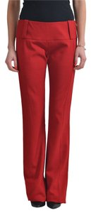 Just Cavalli Straight Pants Red