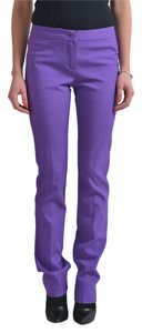 Just Cavalli Straight Pants Purple