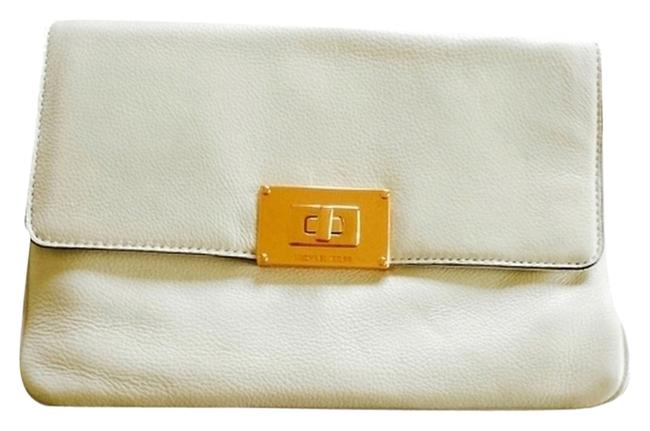 Item - Ns Sloan Rose 35f3tslc2l White Leather Clutch