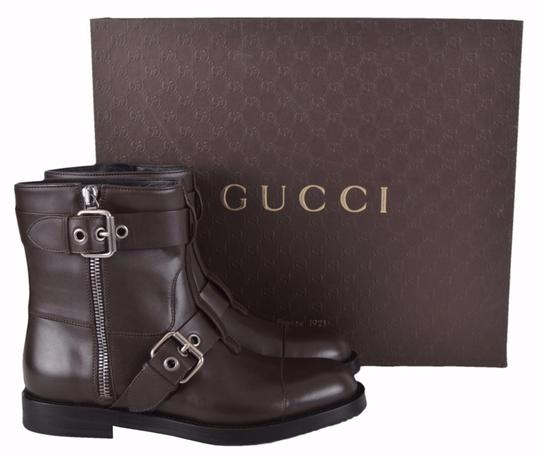 Gucci Ankle Men's Ankle Ankle Brown Boots Image 7