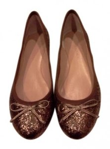 Banana Republic Bronze/Gold Flats