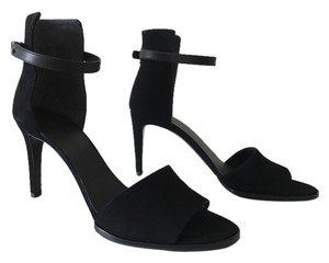 Vince Adley Ankle Strap Heels Black Sandals