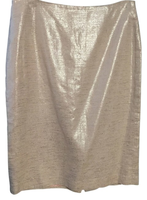 Preload https://img-static.tradesy.com/item/11873497/barneys-new-york-pink-and-silver-knee-length-skirt-size-12-l-32-33-0-1-650-650.jpg