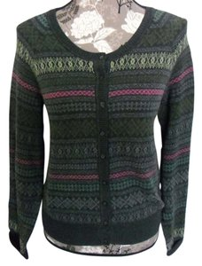 Sonoma Sweater Grey Pattern Cardigan