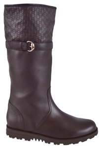 Gucci Midcalf Brown Boots