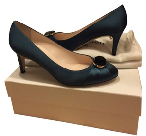 L.K. Bennett Teal, black Pumps
