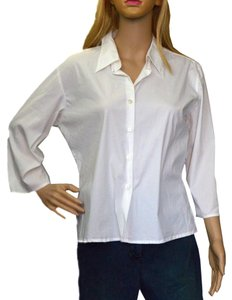 lorenzini Button Down Shirt white