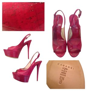 Casadei Fuschia Sandals