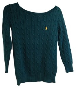 Ralph Lauren Boat Neck Cable Knit Sweater