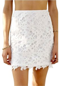 Urban Outfitters Mini Skirt White