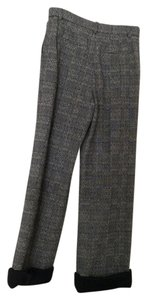 Chanel Capri/Cropped Pants Gray houndstooth