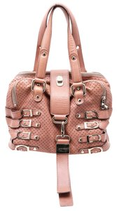 Jimmy Choo Bree Perforated Leather Shoulder Bag