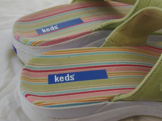 Keds 9.5m Ex. Condition Green Sandals