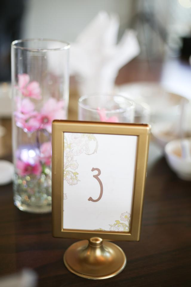 Antique Gold 12 Table Number Frames Centerpiece - Tradesy