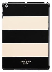 Kate Spade Kate Spade SNAP ON for iPad Air Black and White stripe