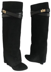 Givenchy Tooth Suede BLACK Boots