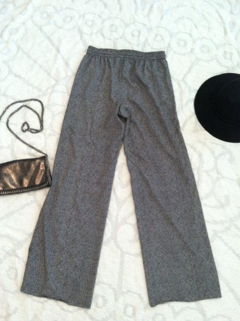 Calvin Klein Animal Print Lounge Wide Leg Pants black, white