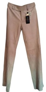 Gucci New Straight Pants Honey Beige Suede