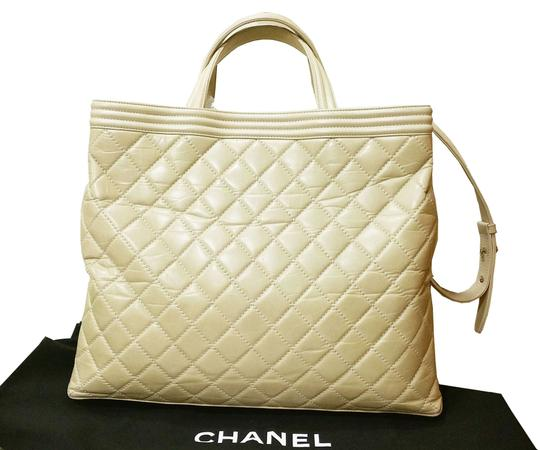 Chanel Le Boy Large Tote Cross Body Bag Image 1