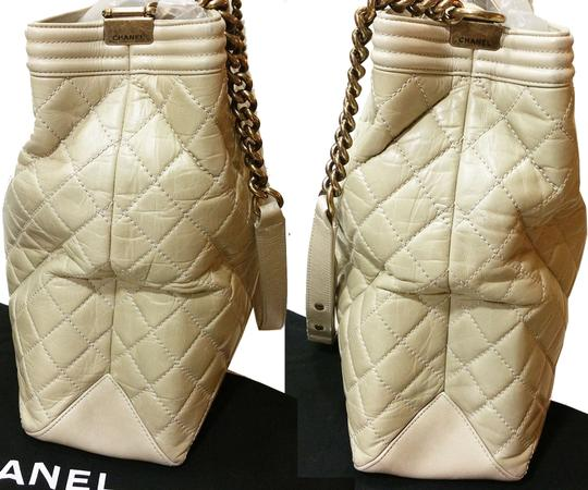 Chanel Le Boy Large Tote Cross Body Bag Image 6