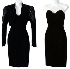 Zum Zum Prom 1980s 80's New Wave Retro Goth Gothic Sexy Clubbing Vintage Lace Sequin Sequence Dress