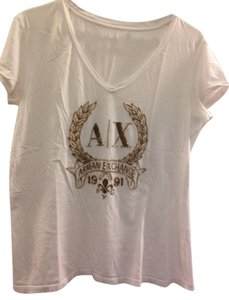 A|X Armani Exchange Top white