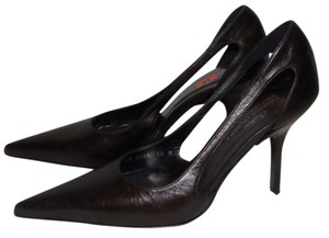 Donald J. Pliner J Runway Couture 10b Brown Pumps